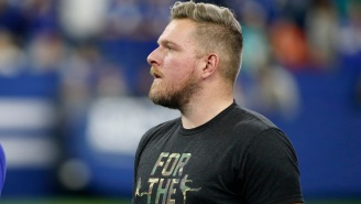 Pat McAfee Introduced The Pelicans Starting Lineup With Trademark McAfee Electricity