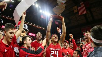 Rutgers Super Fan That's Spent $250k Going To Games Over The Years Isn't About To Let Coronavirus Stop Him From Going To NCAA Tournament