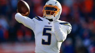 Per Report, The Chargers Are Going To Roll With Tyrod Taylor In 2020 And Not Bring In A Veteran QB