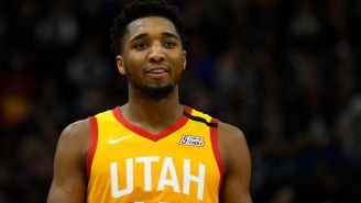 Video Shows Donovan Mitchell Joking With Fans About Coronavirus Just Hours Before Testing Positive Himself