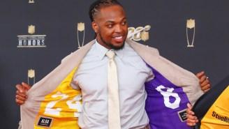 Derrick Henry's $85,000 Mamba Mentality Custom Chain Honoring Kobe Bryant Is A Thing Of Beauty