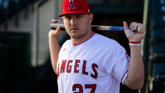 Mike Trout Nearly Broke The Internet After Decimating A Golf Ball At Albert Pujol's Topgolf Charity Event