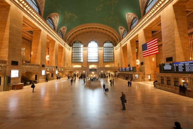 photos of empty new york city coronavirus