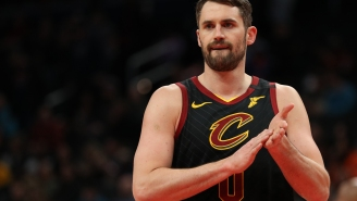 Kevin Love To Donate $100k To Cavs Arena Workers Who Will Be Out Of Work During NBA Coronavirus Hiatus