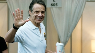 Governor Cuomo's Nipples Appear To Be Pierced With Barbells