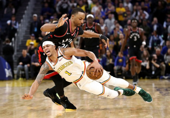 damion lee warriors steph curry return
