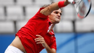 Roger Federer Busting Out Tennis Trick Shots During Practice Is Close Enough To 'Real Sports' To Make Me Feel Alive Again