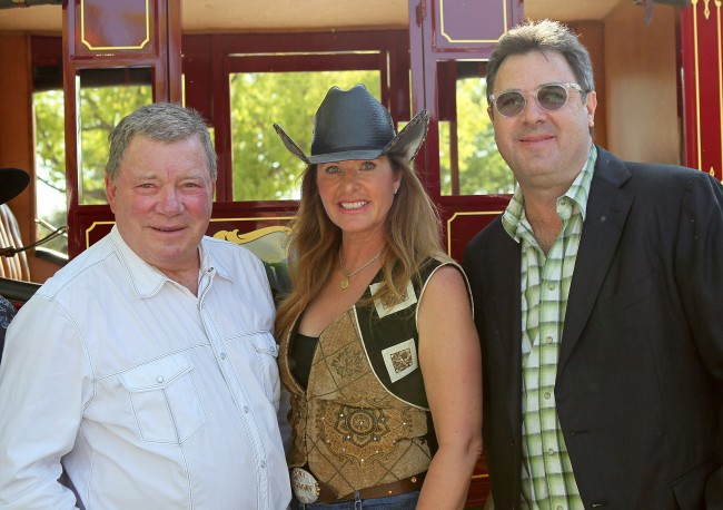 William Shatner and his ex-wife Elizabeth Martin are getting divorced and the Star Trek actor won possession of prized horse semen.