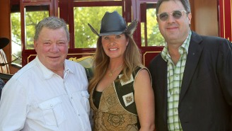 William Shatner Comes Up Big In Divorce Settlement By Getting 'All Of The Horse Semen'