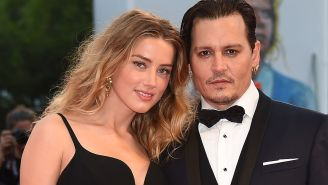 Swimsuit-Clad Amber Heard Seen Getting Cozy With Elon Musk In Johnny Depp's Private Penthouse Elevator
