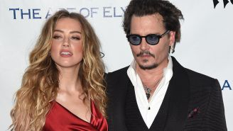 Amber Heard Allegedly Smashed A Door Into Johnny Depp's Face Before 'Clocking' Him In The Jaw, Leaked Court Tape Says