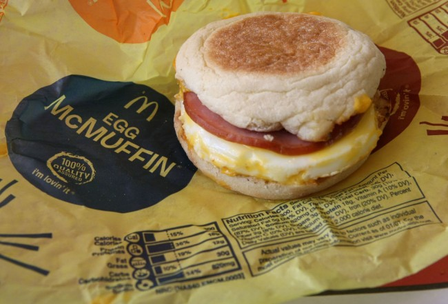 McDonald's is giving away free Egg McMuffins on Monday, March 2, 2020, for National Egg McMuffin Day as Wendy's offers fast food breakfast.
