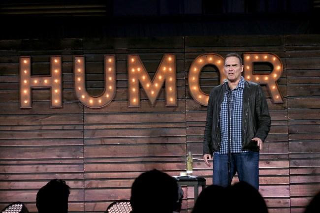 Norm MacDonald makes coronavirus jokes at the Irvine Improv.