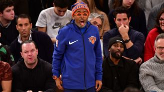Knicks Release A Very Knicks-esque Statement In Response To Spike Lee With Photo Of Him And James Dolan Shaking Hands