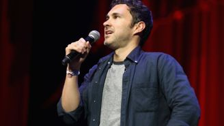 Comedian Mark Normand Performs 'Corona Comedy' On The Streets Of NYC