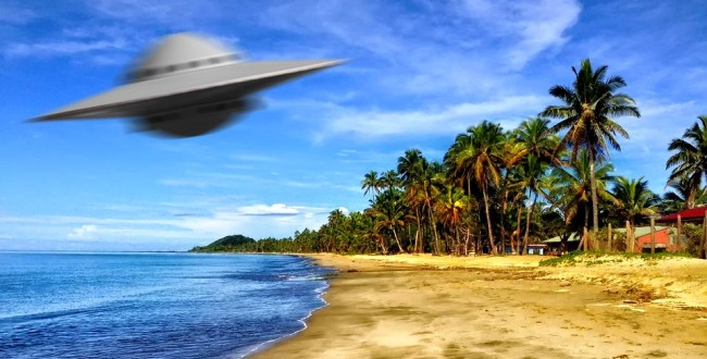 Google Earth Reveals Mysterious Glowing Object Abducting Plane In Fiji