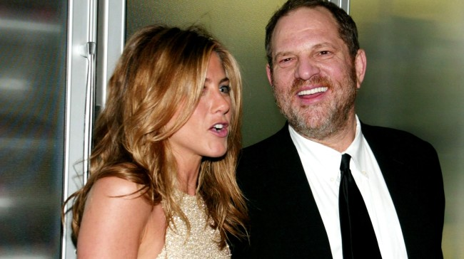 Harvey Weinstein Said Jennifer Aniston Should Be Killed After Claim