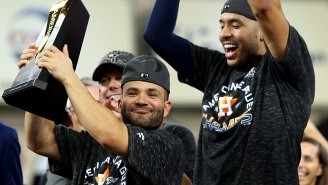 The Astros Are Seriously Going To Hold A Public Ring Ceremony On Opening Weekend For Their ALCS Win