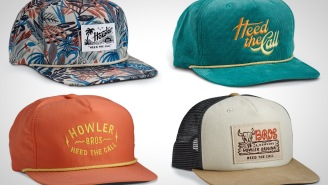 Not Sure When You're Getting Your Next Haircut? Check Out These Fresh Snapbacks