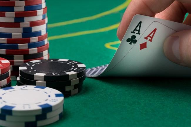 pocket aces poker