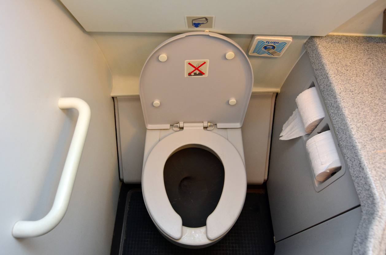An internet debate is raging over toilet erections. Here's what science says.