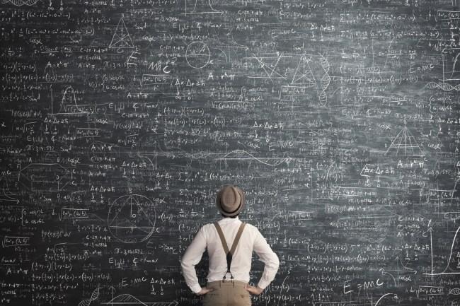 Albert Einstein math problem brain twister