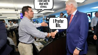 Bill Clinton Claims Oval Office Blowjobs A Form Of Stress Relief