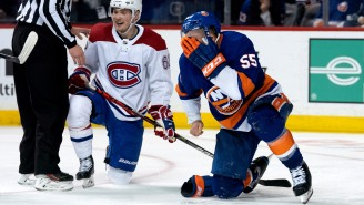 Islanders Defenseman Johnny Boychuk Needed 90 (!) Stitches After Taking A Skate Blade To The Face