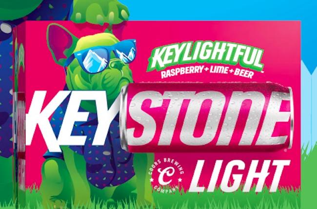 keystone keylightful raspberry lime beer