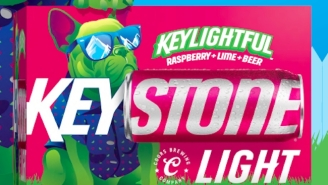 Keystone Light Is Going To War With Naturdays With Its Own Raspberry-Lime Flavored Beer Called 'Keylightful'
