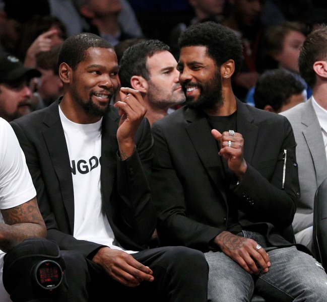 Following the firing of head coach Kenny Atkinson, both Kyrie Irving and Kevin Durant are being blamed for their roles