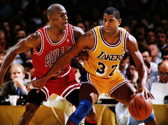 Magic Johnson describes Michael Jordan's legendary 1991 NBA Finals shot as the greatest ever, and explains why he still hates Bulls legend