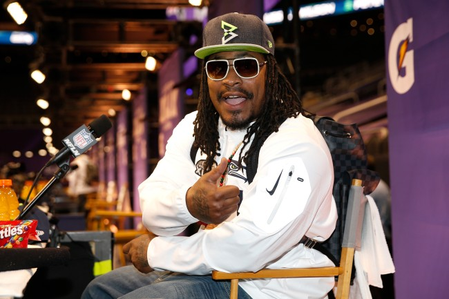 """Princeton students were upset that Marshawn Lynch was chosen as the speaker for the """"class day"""" speaker and battled the school's decision"""