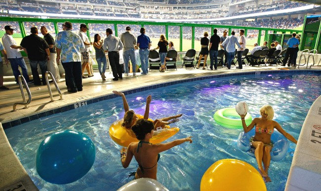 Miami Marlins Have Closed The Clevelander Nightclub And Swimming Pool