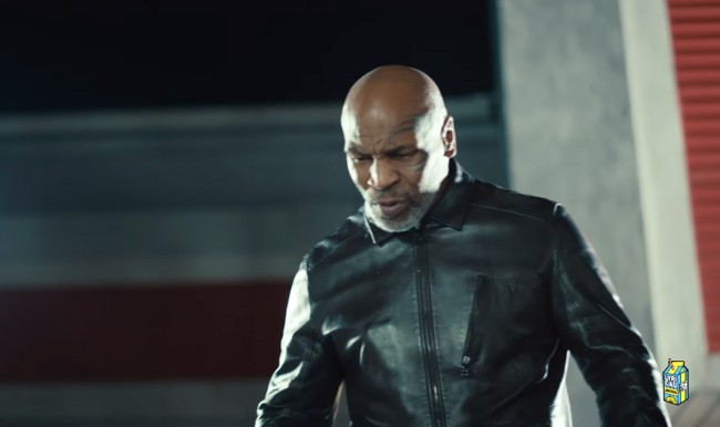 Mike Tyson Had A Good Time Knocking Out Eminem In Godzilla Video