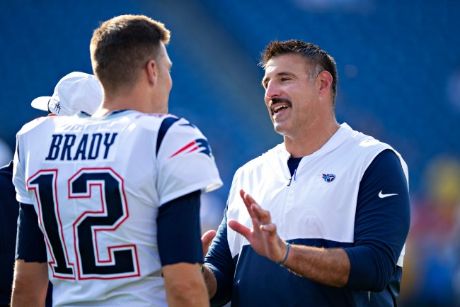 Titans head coach Mike Vrabel details the context of his FaceTime call with Tom Brady at recent college hoops game