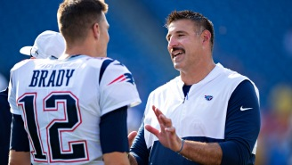 Mike Vrabel Downplays The Reason He And Tom Brady Were Seen FaceTiming At Recent College Hoops Game