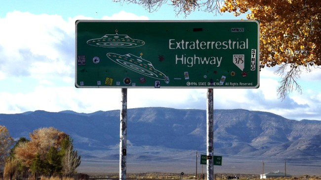 Mysterious Objects Spotted Emerging From Area 51 Experimental Air Base