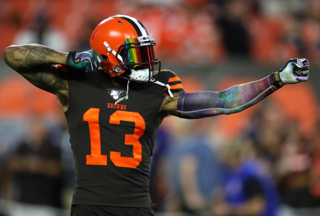 Ian Rapoport claims Odell Beckham Jr. won't be traded by Browns because he's involved with team's new uniform unveiling