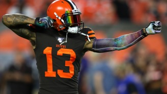 Ian Rapoport Gives Absolutely Pointless Reason Why Browns Fans Can Expect Odell Beckham Jr. To Be Back With Team Next Season