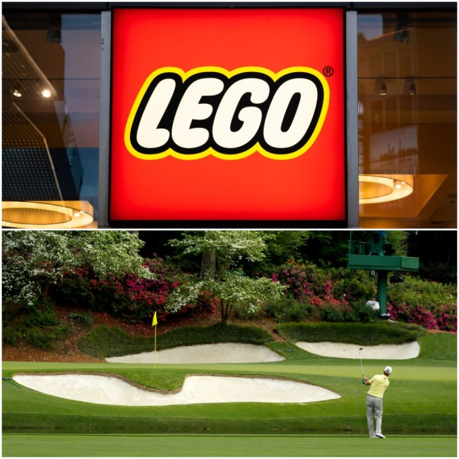 12 at augusta national masters lego replica