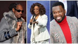 Snoop Dogg And 50 Cent Taunt Oprah After She Takes A Tumble On Stage While Talking About Balance