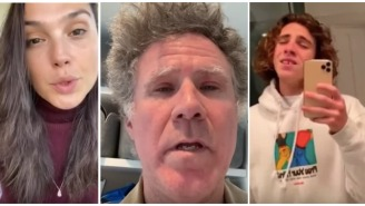 Coming To Terms With Will Ferrell Participating In The Celebrity 'Imagine' Video