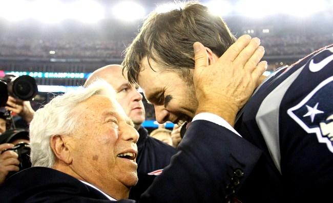 Robert Kraft On Tom Brady Leaving Patriots I Gave Him His Freedom