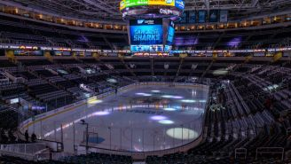 The Sharks Could Be The First Major American Team To Play Games Without Fans After San Jose Banned Large Gatherings Due To Coronavirus