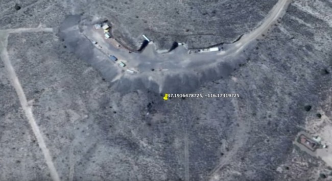 Secret Area 51 Tunnel Openings Discovered On Google Earth