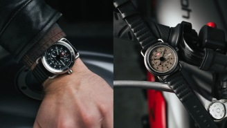 This Sick Vintage Military And Aviation-Inspired Watch Is On Sale Today And It Comes In 4 Different Styles