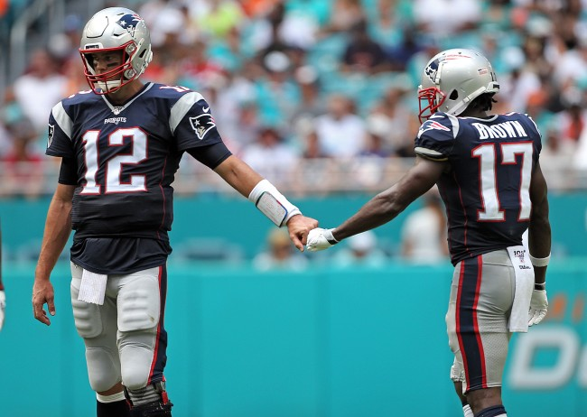 Rumors are swirling that Tom Brady and Antonio Brown have been in constant contact about reuniting on an NFL team together