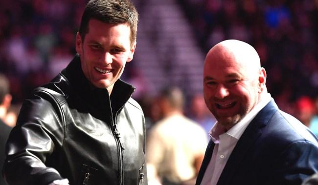 Tom Brady Discussed Free Agency Process On Instagram With Dana White