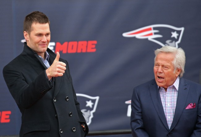 The New England Patriots reportedly have no idea what Tom Brady's contract demands are as he heads towards free agency